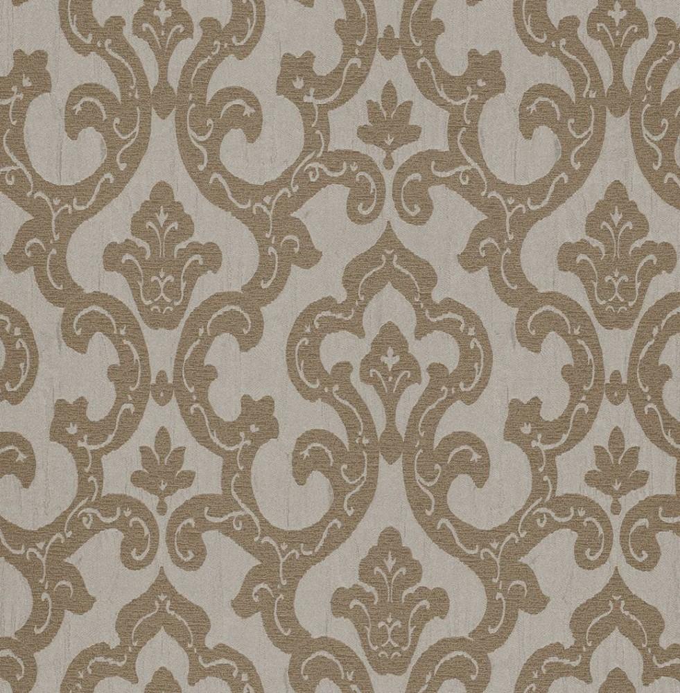 Tapete Rasch Textil Barock beige braun 324708