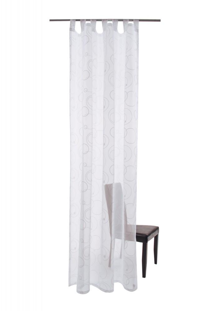 schlaufenschal palio ko tex vorhang 140 x 245 transparent 5520 09 wei. Black Bedroom Furniture Sets. Home Design Ideas