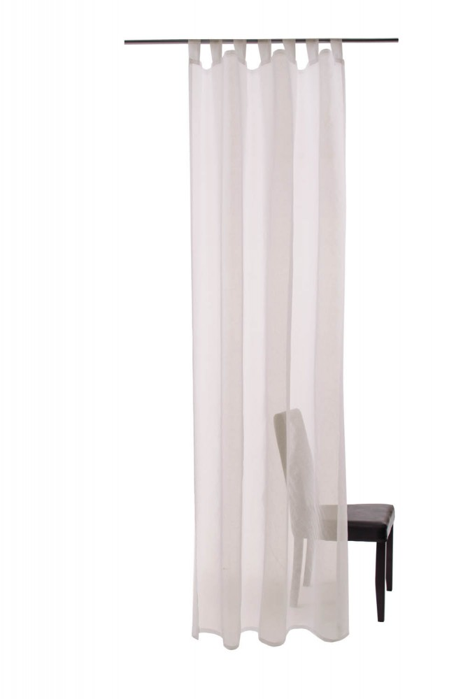 schlaufenschal barletta ko tex 140 x 245 transparent 5502. Black Bedroom Furniture Sets. Home Design Ideas