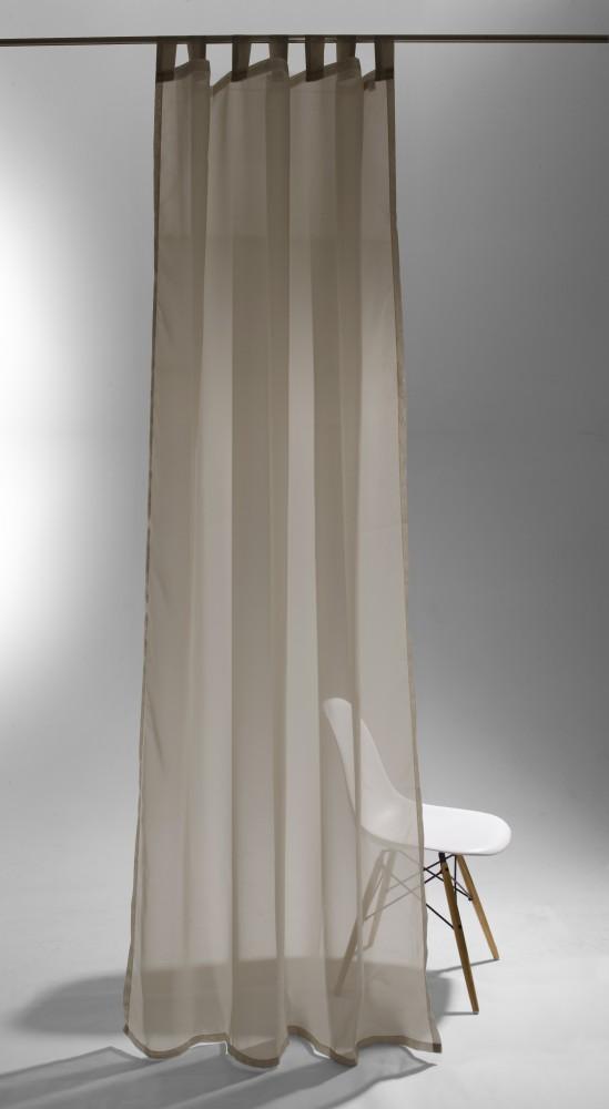 schlaufenschal raffi pearl ko tex vorhang 140 x 255. Black Bedroom Furniture Sets. Home Design Ideas