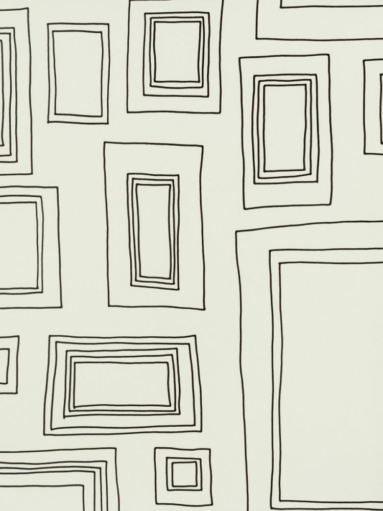 kindertapete 52050 52 050 bilderrahmen wei schwarz. Black Bedroom Furniture Sets. Home Design Ideas