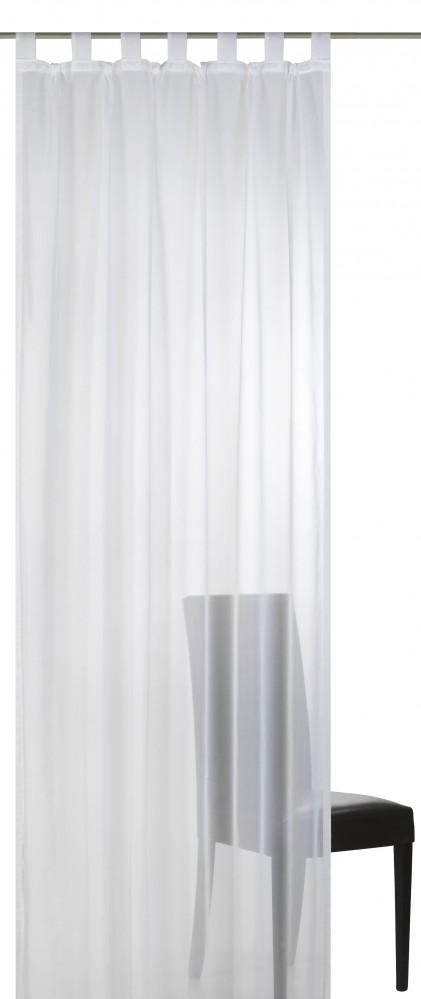 Details zu Schlaufenschal Elbersdrucke Basic 00 transparenter Vorhang ...