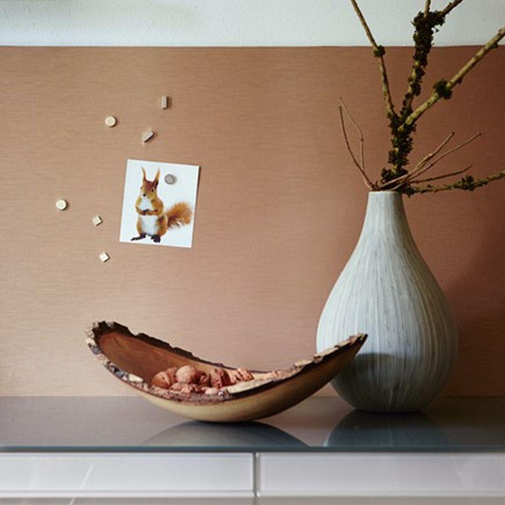 panel selbstklebend uni kupfer pop up magnet tapete. Black Bedroom Furniture Sets. Home Design Ideas