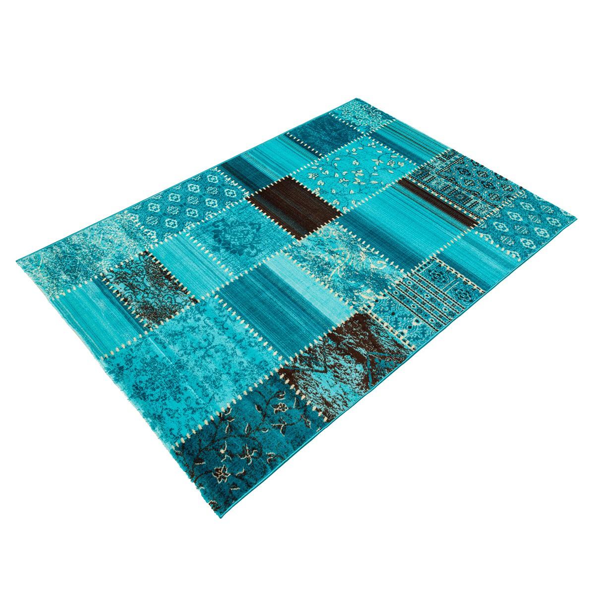 Teppich türkis Oriental Maya in 4 Größen