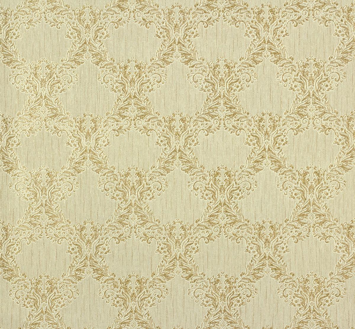 vliestapete barock creme gold tapete p s como 02355 40 0235540. Black Bedroom Furniture Sets. Home Design Ideas