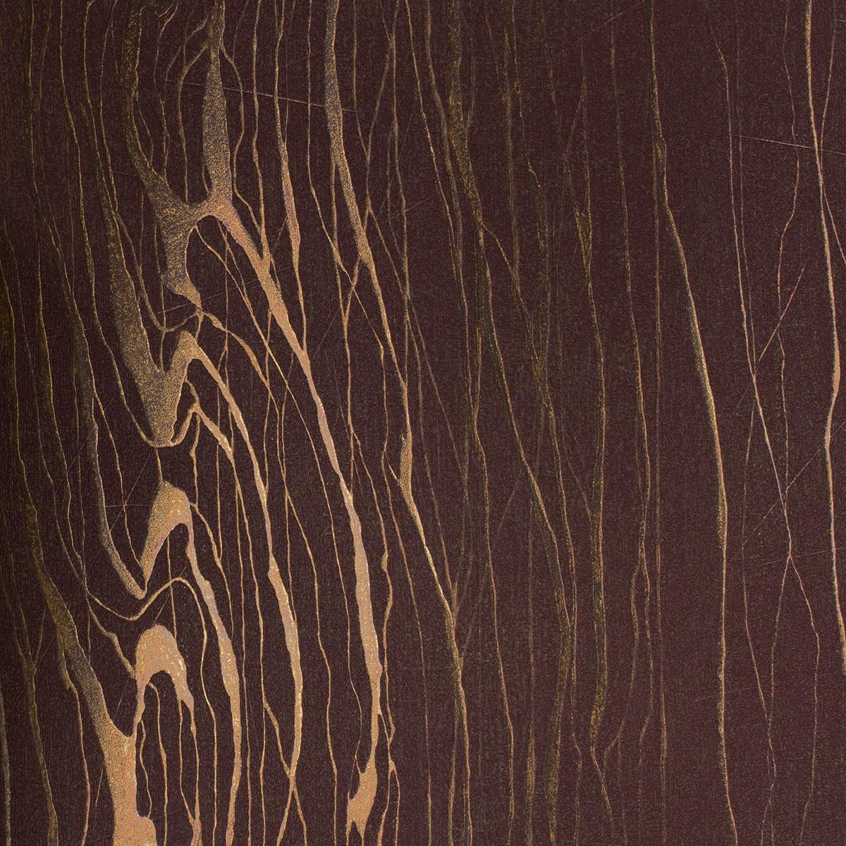 vliestapete luigi colani struktur braun gold 53333. Black Bedroom Furniture Sets. Home Design Ideas