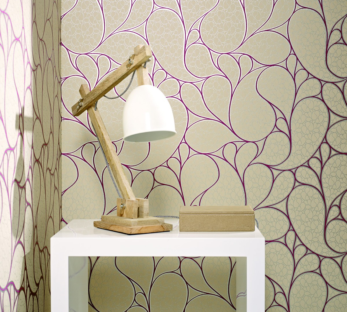 vliestapete marburg messina tapete 55425 design modern. Black Bedroom Furniture Sets. Home Design Ideas