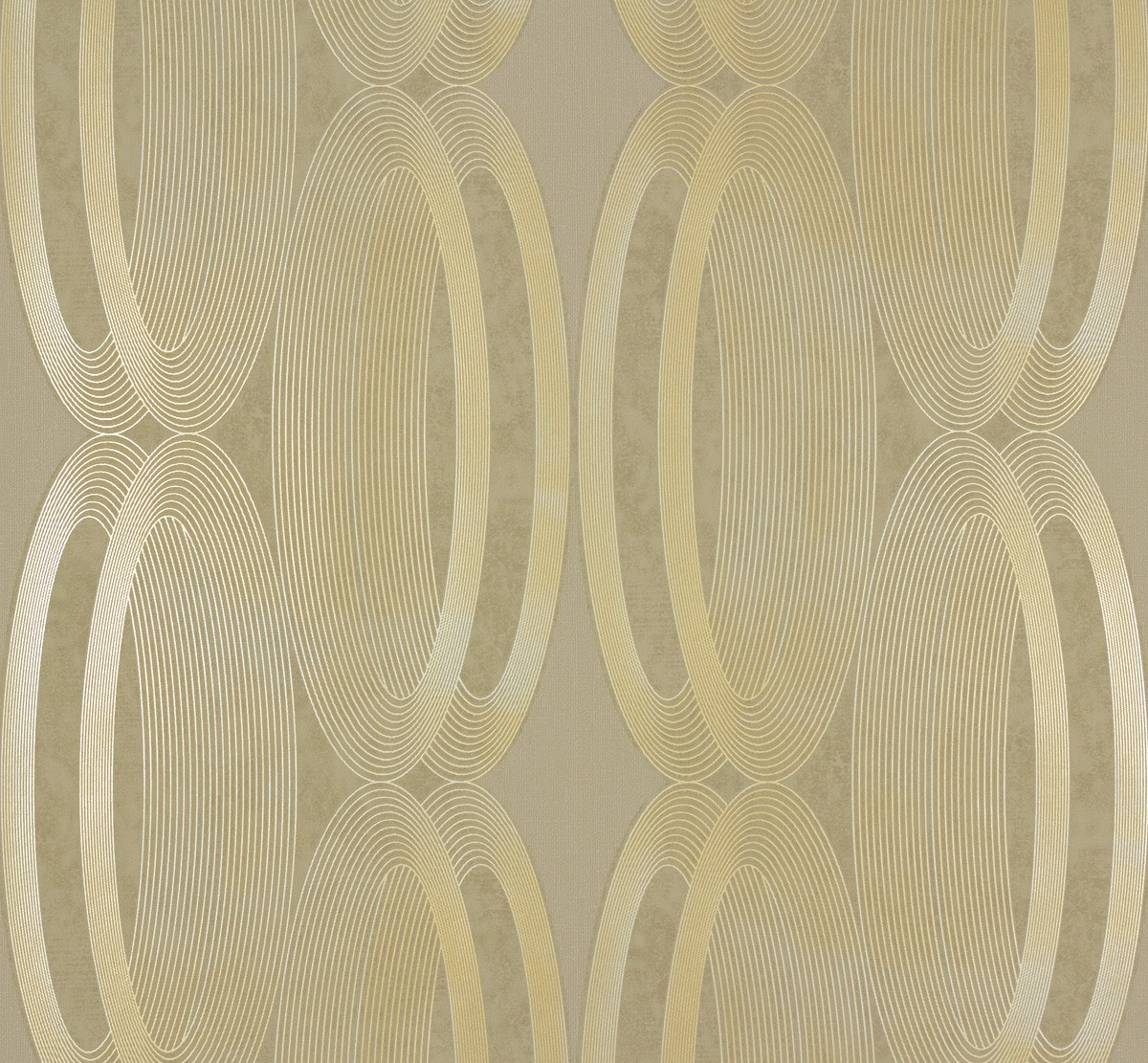 Marburg Tapeten Ornamental Home : Vliestapete Marburg Ornamental Home 55218 Design Kreise creme gold