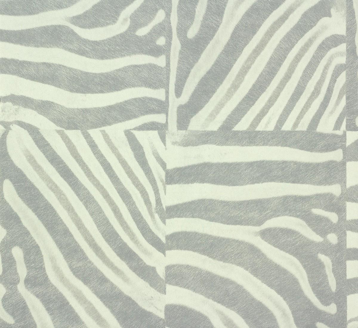 rasch tapeten pop skin zebraoptik grau weiss 498530. Black Bedroom Furniture Sets. Home Design Ideas
